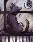 Midnight Kitty (2002) by jinwicked