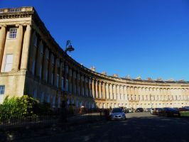 Bath - Royal Crescent by PhilsPictures