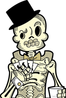 Calavera Poker by ViciousJulious