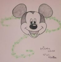 Mickey Mouse by chloesmith8