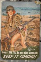 Propaganda Pinups - D-Day Tribute by warbirdphotographer