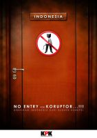 No Entry for Koruptor by p32n