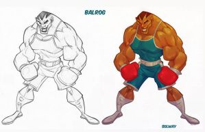 Street Fighter: Balrog by Kravenous