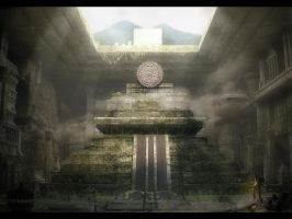 Underground temple by anmazol