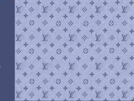 louis vuitton blue denim by puddlz