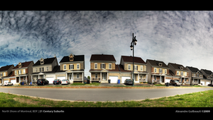21st Century Suburbs by AlexandreGuilbeault