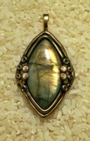 Fairy Land Labradorite Pendant by Sweet2Spicy