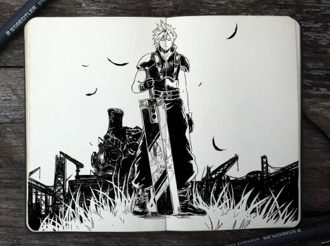 #320 Final Fantasy VII by Picolo-kun