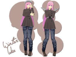 .:350+ Watcher's Gift:. Winter Luka by xkyarii