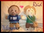 Morgan and Reid Plushies by angelic-o-wings