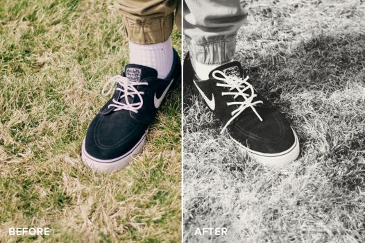 Matte Series Photoshop Actions Before/After 2 by filtergrade