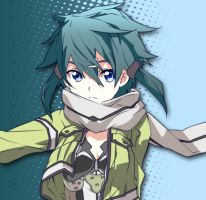 Sinon by RedKnightWill