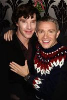 Happy Holidays from John and Sherlock by PeaceRevolution22