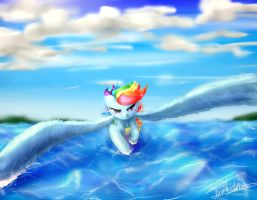 Morning flight by ELZZombie