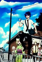 Ao no Exorcist by Alisian