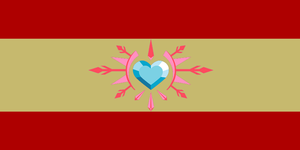 Flag of Spaneigh kingdom by Pacman552