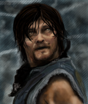 TWD (first attempt at digital with mouse) by HappilyJeska