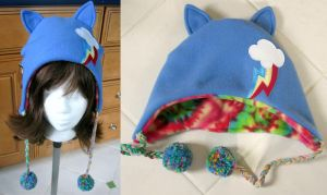 Rainbow Dash MLP Inspired Hat by limejutsu