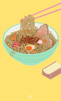 100 Foods - Ramen! by ArtOfEdge