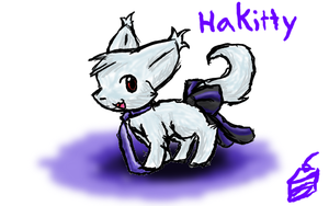 KawaiiKitty7's request - Hakitty by CleverConflict