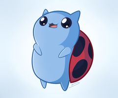 My name is Catbug! What's yours?! by braydoi