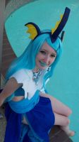 Vaporeon by the Water by Pains-Angel