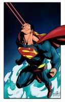 Superman Colors by Laserbot