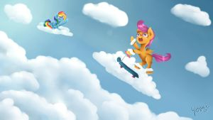 Fly, Scoots, Fly! by Yuukon