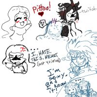 Kid Icarus Doodles by Light-girl