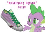 Spike shoes by DoctorRedBird