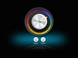 Simple Color Volume for XWidget by boyzonet