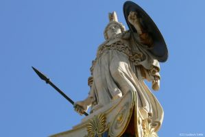 Greece - Statue of Athena by Ludo38