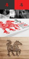 Chinese new year 2014 Year of the horse by Lemongraphic