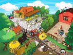 Messy Farm by FrancescaDaSacco