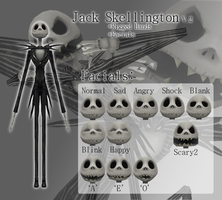 MMD- Jack Skellington V.2 -DL by MMDFakewings18