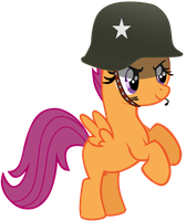 My third vector of, Scootaloo. by Flutterflyraptor