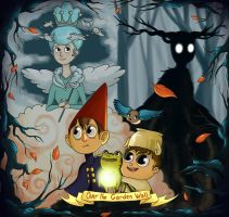 Over the garden wall by bagel-art