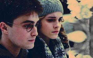 HBP Harry+Hermione Wallpaper by Dark-Slytherin