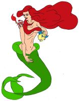 Ariel and Pals Colored by Axel-Knight