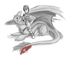 How To Train Your Dragon 2 by AriellaMay