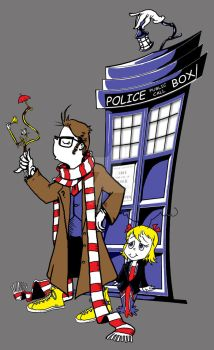 Dr Whoville (and Cindy Lou Who, too) by TonyTempest