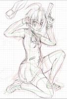 Sketch - Rikka Takanashi Wicked Lord Shingan ver. by return-null