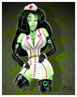 Shego - Naughty Nurse by SlyFXZ