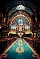 Notre Dame Montreal by snowbo2
