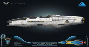 CoM 3.0 Republic Tridamos Class Fleet Cruiser by Galen82