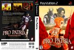 Pro Patria: mock PS2 cover by wredwrat