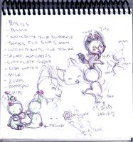 Designs for Yofe and Prickle by DivaLea