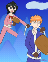 SSBA: Ichigo and Rukia as IC by Apkinesis