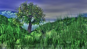 Tree Grass1 by Topas2012