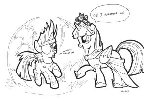 A Meeting of Minds (Inked) by ABronyAccount